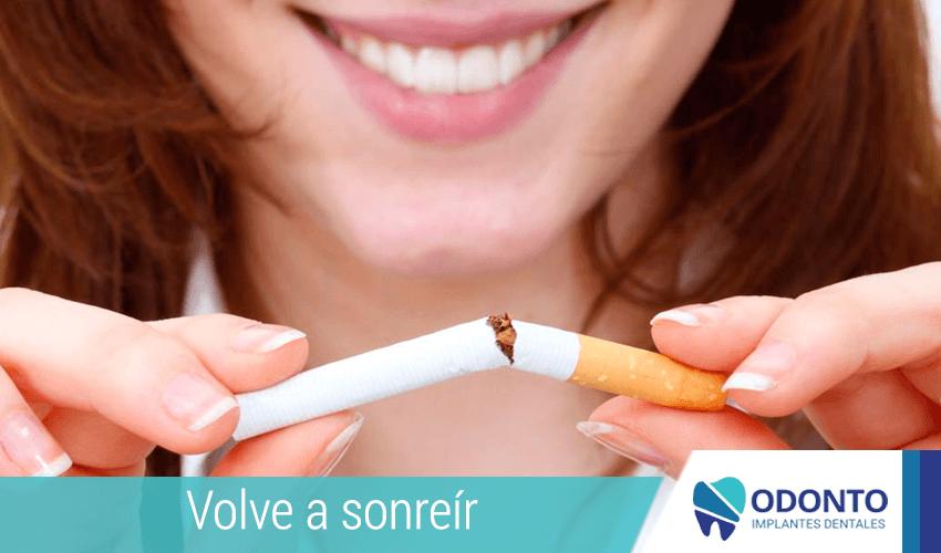 ¿Fumar puede provocar el fracaso de los implantes dentales?